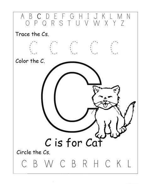 letter  worksheets  toddlers printable worksheets