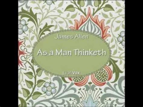 As A Man Thinketh ( Audiobook) By James Allen Youtube