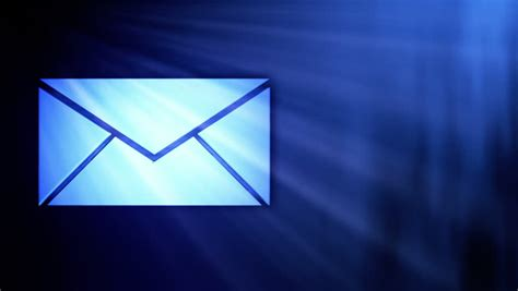 Background Email by Animation Of Opening An Email Stock Footage 648226