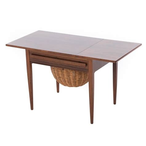 sewing table for sale danish modern sewing table for sale at 1stdibs