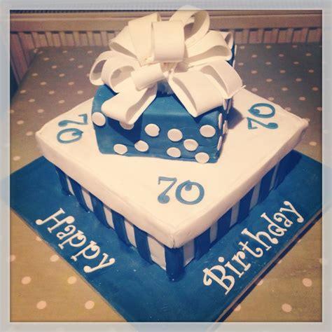 70th Birthday Cake Man