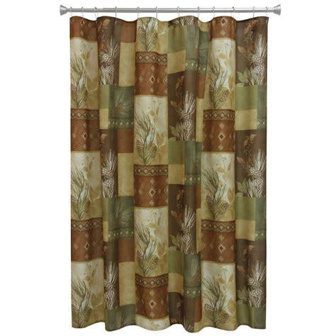 Pine Cone Diamond Shower Curtain