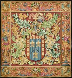 Regal crest tapestry abstract modern tapestries and