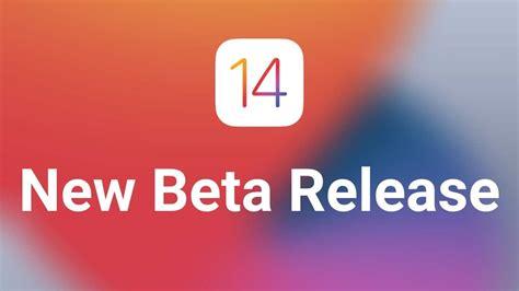 Apple releases the beta 4 of iOS 14, iPadOS 1,tvOS 14 ...
