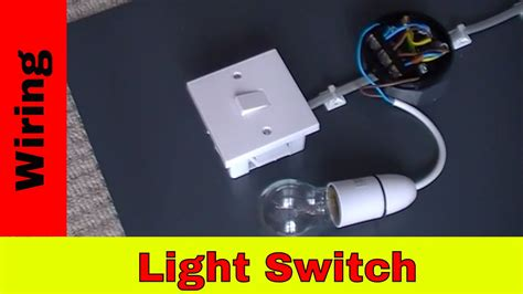 How Wire Light Switch Youtube