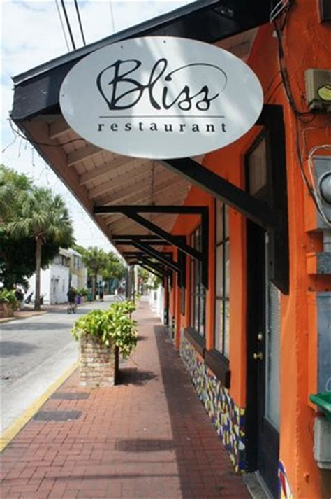 bliss cuisine bliss restaurant kw key restaurant reviews phone