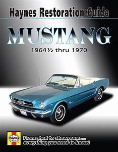 Ford Mustang Haynes Restoration Guide  64