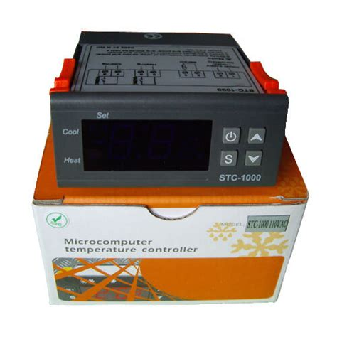 temperature controller stc temperature controller stc 1000 heater heating cooling
