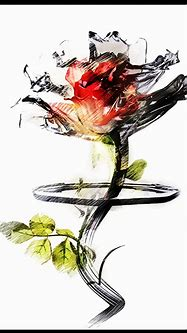 3D abstract flower by Skab3txina on DeviantArt