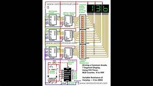 Counter  U0026quot 0 To 999 U0026quot   Driving A 7 Segment Using 555 Timer