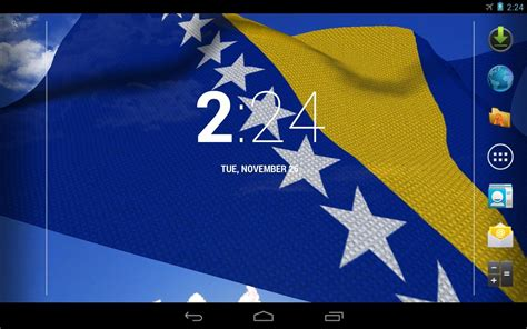 3d Bosnia Flag Live Wallpaper  Android Apps On Google Play