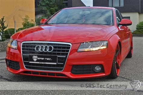 Srs Wide Fenders For Audi A4 B8  Pg Performance