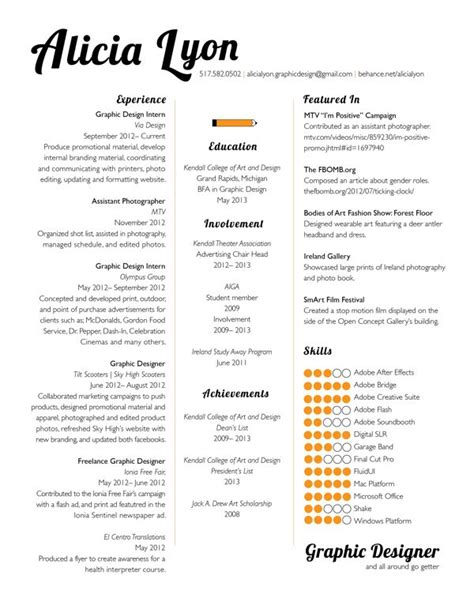 Font For Resume Design by Graphic Design Resume Template Http Jobresumesle 1329 Graphic Design Resume Template