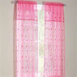 sears curtains and valances flora sheer panel with