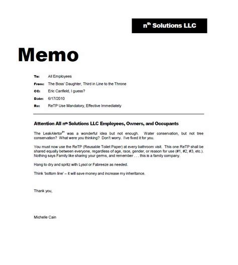 how to write a memo to staff sle memo to employees regarding overtime just b cause