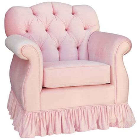 aspen tufted empire glider  pink pink furniture