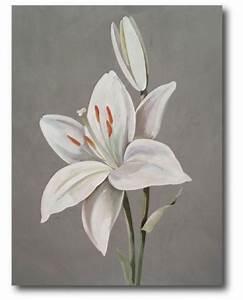 Tableau Fleurs Moderne : tableau moderne fleurs acheter un tableau de fleurs ~ Teatrodelosmanantiales.com Idées de Décoration