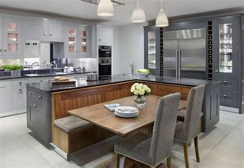 20 kitchen island with seating 20 beautiful kitchen islands with seating kök hus och