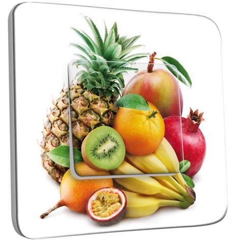 interrupteur cuisine interrupteur décoré poussoir cuisine style fruits2