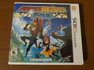 This is the basics of ds game maker ds game maker download: RPG Maker FES (Nintendo 3DS) CASE ART + GAME, TESTED, FREE ...
