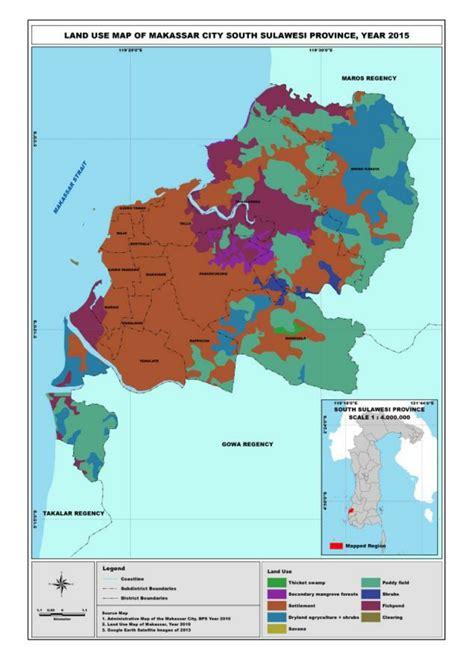 Land Use Map Of Makassar Download Scientific Diagram