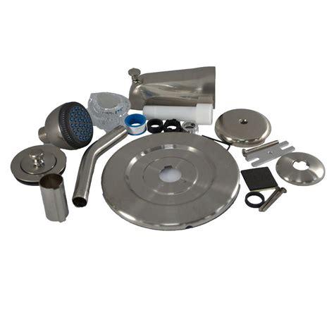 bathtub trim kit partsmasterpro complete renu 1 handle tub and shower
