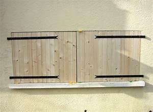 Pose de volet bois 28 images subaudio bricolage for Pose volet bois