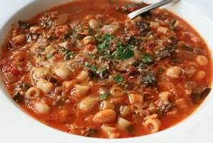 The authentic Minestrone della Nonna (Gran'Ma Minestrone)