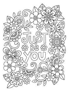 454 Best Floral Coloring Pages for Adults images