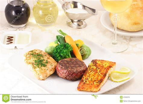 cuisine libre repas fin de cuisine image libre de droits image 4763376