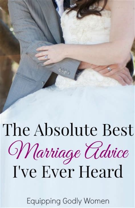 Now comes the hard part: The Absolute Best Marriage Advice I've Ever Heard