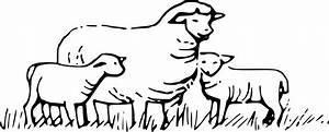 Lamb Clipart Black And White | Clipart Panda - Free ...