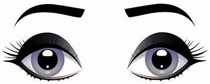 Eyes Clip Grey Eyebrows Clipart Female Shark