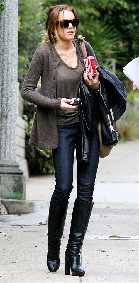 Lindsay Lohan's too skinny for her skinny jeans - NY Daily ...
