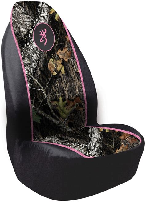 Browning For Her Pullover Bucket Seat Cover Polyester