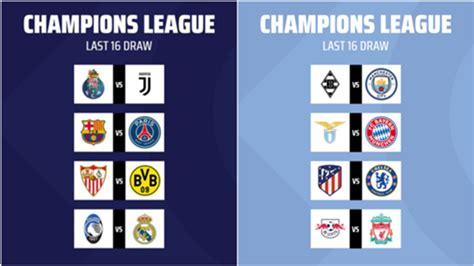 Le tirage des quart de finale de la ligue des champions 2021 est prévu le vendredi 19 mars 2021 à 12h00 heure de paris. Octavos de final de la Champions League 2020-2021: Cuándo son, partidos, fechas, horarios y ...