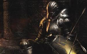 Wallpaper Demons Souls Knight Warrior Armor Arrows