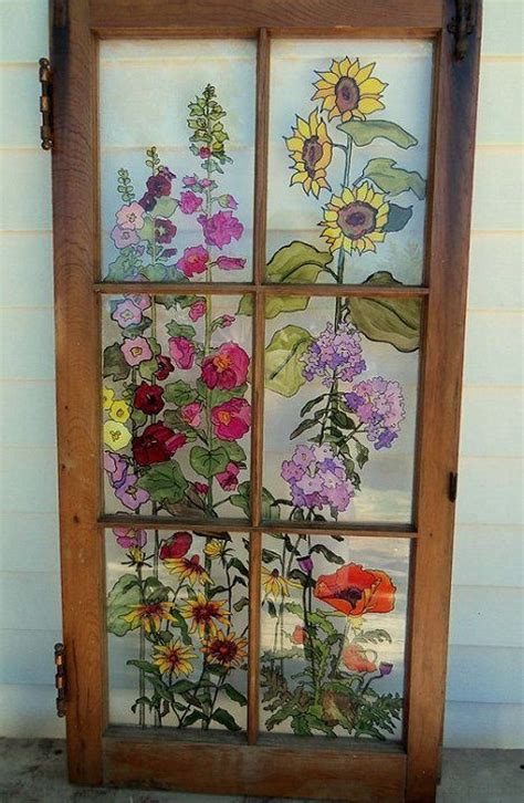 window frame ideas 53 best glass painting images on 1107