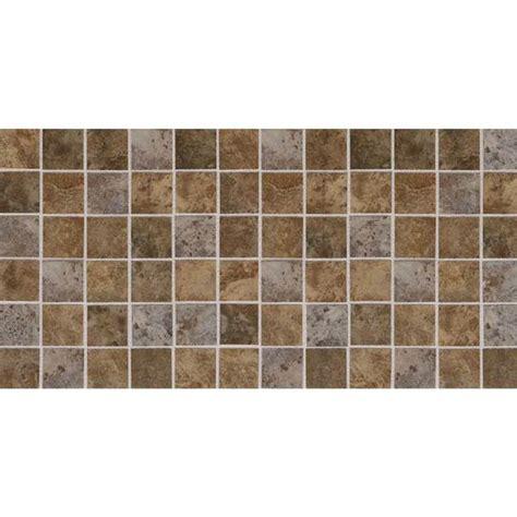 American Olean Mosaic Tile by American Olean Belmar Earth 2 Quot X 2 Quot Porcelain Mosaic Blend