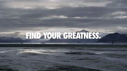 Greatness Strive Nike Wallpapers Fiction Beginning Non