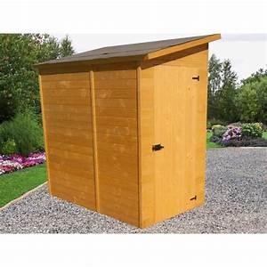 Abri Vélo Pas Cher : habrita foresta abri de jardin en bois adossable 2 37 m ~ Premium-room.com Idées de Décoration