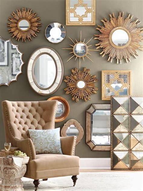 mirrors decoration on the wall 10 wall mirror ideas that will give the unique look to