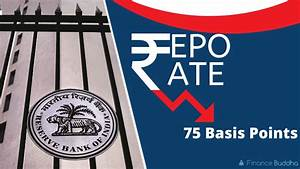 Rbi Reduces Repo Rate By 75 Basis Points To 4 4