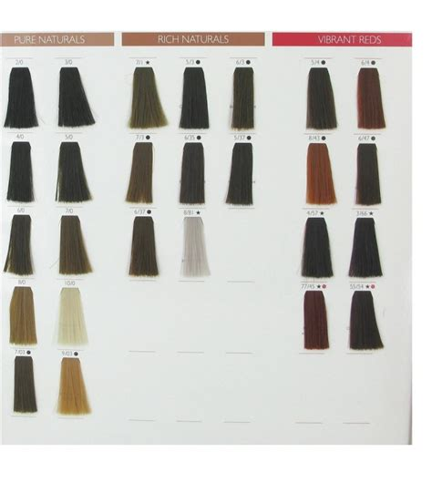 wella professionals swatches color touch wella color touch
