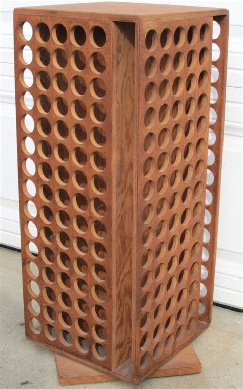 Carousel Spice Rack Organizer by Mid Century Wood Bottle Organizer Spice Rack Hmmm