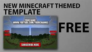free outro template minecraft download link in With minecraft outro template movie maker