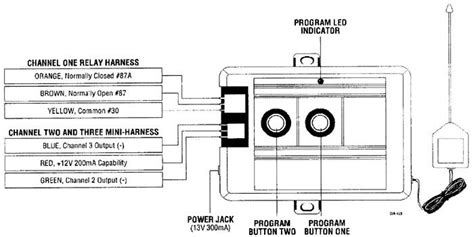 Commando Car Alarm Wiring Diagram