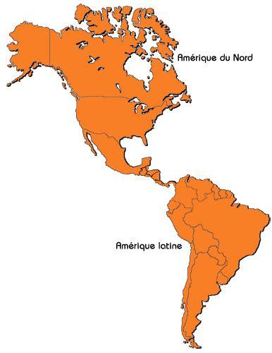 Carte Du Monde Continent Americain by Cartograf Fr Les Cartes Des Continents L Am 233 Rique