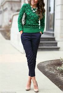 25+ best ideas about Navy pants outfit on Pinterest | Navy pants Navy blue pants and Womenu0026#39;s ...