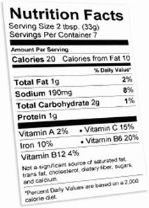 free nutrition label maker generate nutrition fact With free nutrition label maker